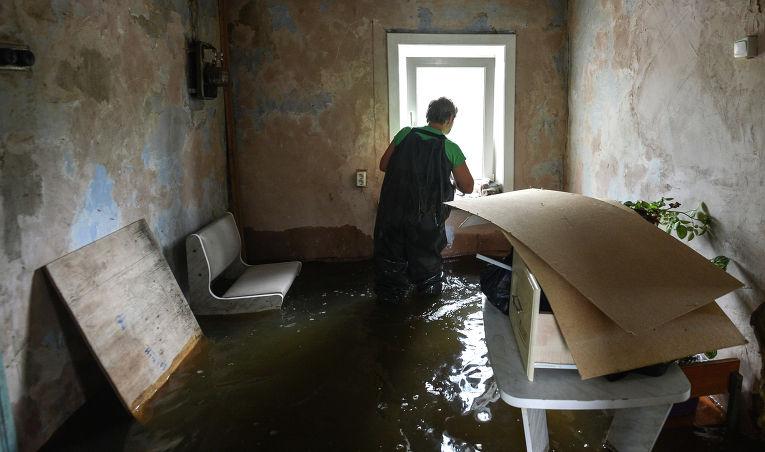 работы после затопления квартиры